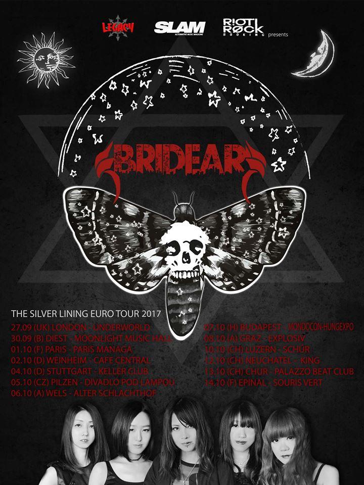 Bridear - Silver Lining Tour