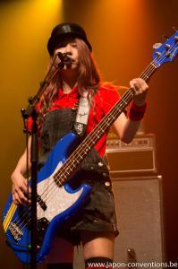 Bassiste de Scandal : Tomomi